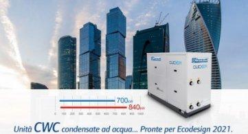 Unità CWC... Pronte per Ecodesign 2021