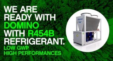 We are ready with Domino with R454B refrigerant